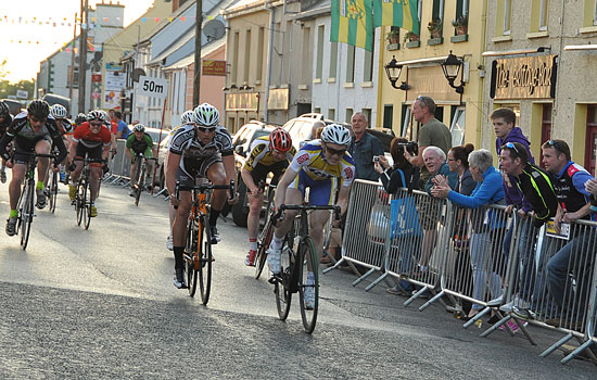 Bunch sprint Ardara
